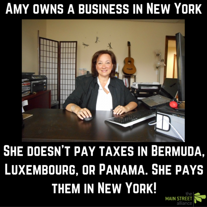 Amy Collins- Tax Day - Offshore