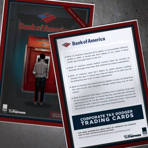 Bank of America Share Graphic