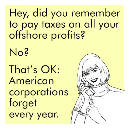 Female Hey did you pay taxes on all your profits