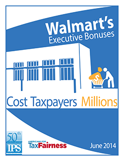 Report: Walmart's Executive Bonuses Cost Taxpayers Millions