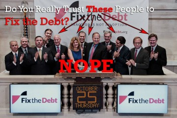 fix the debt -- Really?